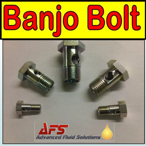 M12 (12mm x 1.5) Metric BANJO Bolt Single Fitting